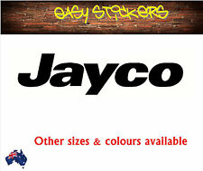 580mm Modern Jayco Caravan Replacement Sticker - Any Colour! - Posted Same Day!
