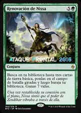 MTG RENOVACIÓN DE NISSA - Nissa's Renewal - Batalla por Zendikar ESPAÑOL NM