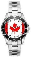 Kanada Geschenk Fahne Kanadische Geschenkartikel Fan Uhr 1135