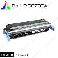 1 Pack C9730A Black Toner for HP 645A LasertJet 5500 5500HDN 5500N 5550 5550N