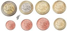 Litauen alle 8 Münzen 1 Cent - 2 Euro Kursmünzenset KMS 2015