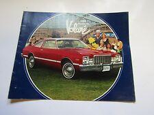 Mopar 78 Volare Sales Brochure 1978