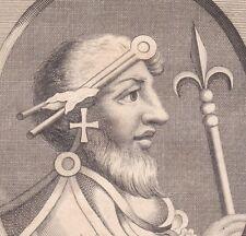 Canute the Great Knut II  Danemark England Canut XVIIe