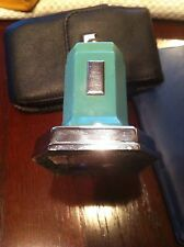 Rare Ronson Touch Tip Octette Lighter c1935 Deco Art Metal Works GREEN ! REDUCED