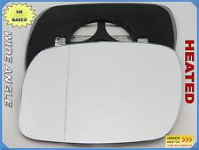 VOLKSWAGEN TOUAREG 2002-2006 Wing Mirror Glass Wide Angle HEATED Left Side /1037