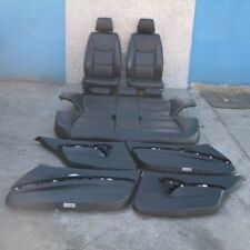 BMW 3 SERIES 2 E90 Black Leather Interior Seats with Airbag and Door Cards