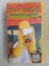 The Simpsons Treehouse of Horror VHS Video WHSmith Exclusive Homer Sleeve