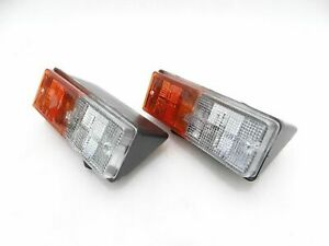 JEEP WILLYS CJ PARKING LIGHT ASSEMBLY TAPERED LH & RH SIDE PAIR -10 Day Delivery