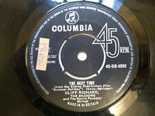 "Cliff Richard, The Next Time, Bachelor Boy (45-DB 4950) 7"" Single Columbia 1962"