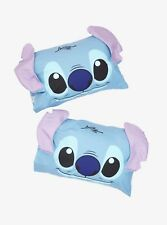 Adorable Disney Lilo & Stitch 3D Pillowcases Set of 2 New