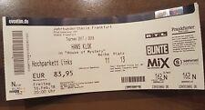 4 Hans Klok Tickets Frankfurt Jahrhunderthalle zu verkaufen
