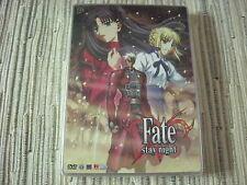 DVD MANGA SERIE FATE STAY NIGHT 2 SELECTA EDICIÓN ESPECIAL CAJA METALICA NUEVA
