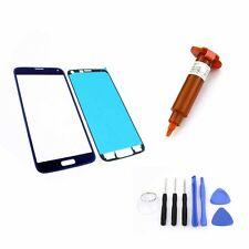 Cristal Delantero para Samsung Galaxy S5 Azul Pantalla Táctil UC LOCA 5ml