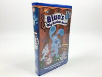 Blues Clues - Blue's Big Musical Movie - VHS (2000, Nick Jr., Clamshell Case)