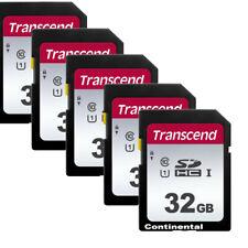 5 Transcend 32GB SD SDHC Class 10 Secure Digital Memory Card