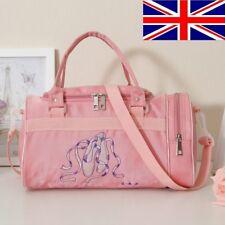 UK Stock New Kids Girls Pink BALLET Shoes Bag Handbag Dancing Bag Shoulder bag