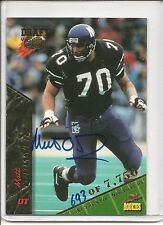 1995 Signature Rookies Matt O'Dwyer Autograph Football Card #57