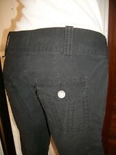 Pantalon court pantacourt bermuda CALVIN KLEIN 36 38 W27 coton noir