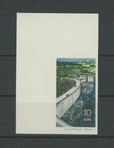 DDR PH 1401 TALSPERREN 1968 PHASENDRUCK 4. PHASE ECKRAND !! Mi 150.- PROOF p626