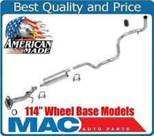 1990-1991 Ford Ranger 2.9L With 114 Inch Wheel Base Muffler Exhaust Pipe System