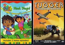 Dora the Explorer - Meet Diego!(DVD)& Tugger:The Jeep 4x4 Who Wanted To Fly(DVD)