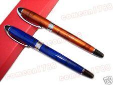 G75 2 X Baoer Medium Nib Fountain Pen In Blue & Brown