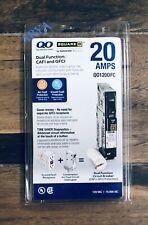 Square D Qo120dfc Qo120df Dual Function Cafi Amp Gfci Circuit Single Pole 20a