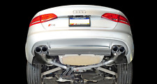 AWE TUNING 2013-2016 AUDI S4 3.0T B8.5 TRACK CATBACK EXHAUST 102MM CHROME TIPS