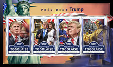 Togo Donald Trump Stamps 2016 MNH US Presidents Lincoln Statue of Liberty 4v M/S