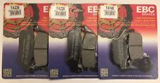 Triumph Tiger 800 (2011 to 2018) EBC Organic FRONT and REAR Brake Pads (3 Sets)