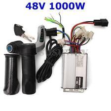48V 1000W Electric Bike Motor Scooter Speed Controller w/Throttle Twist Grips