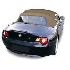 BMW Z4 2003-2008 Convertible Soft Top Replacement & Glass Window Tan Stayfast