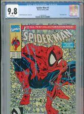 1990 MARVEL SPIDER-MAN #1 TORMENT TODD McFARLANE CGC 9.8 WHITE