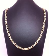 Stunning Solid 9ct Yellow Gold Belcher Chain 6.1gms;22inch UK. hallmark RRP £275