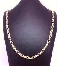 Solid 9ct Yellow Gold Belcher Chain:8.4gms;30inch;U.K. Hallmark RRP £375