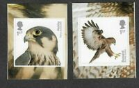 Great Britain-Birds of Prey 2 stamp set self-adhesive mnh 2019
