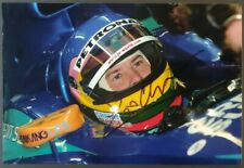 Jacques Villeneuve Signed Photo - Sauber Formula 1 Team