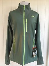 The North Face Dolomiti Fuse Form Full Zip Jacket Green Dolomite SZ XL Women NEW