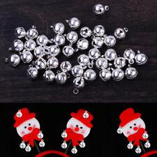 100X Glöckchen Schellen 8mm Kupfer Glocken Kleine Jingle Bells Ornament ly