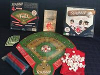Redsox Editions Scrabble Game Complete Fundex Hasbro 2009