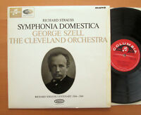 33CX 1904 Strauss Symphonia Domestica George Szell EXCELLENT Columbia Mono LP