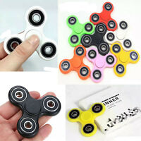 Fidget Spinner Hand Finger Spinner EDC UK Tri-Spinner Focus Speed Toys Gift