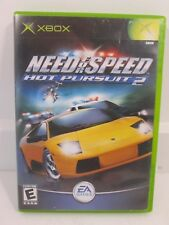 Need for Speed: Hot Pursuit 2 (Microsoft Xbox, 2003) Complete & Tested