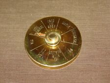 """VINTAGE 4"""" ACROSS DESK OFFICE BOSS SPIN  DIAL DECISION MAKER PAPERWEIGHT"""