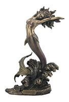 Yemaya - Mother Of All & Goddess Of The Ocean Bronze  Sculpture Figure Statue