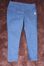 RIVERS Casual PANTS STRETCH WASH DENIM Size 16 NEW rrp$49.95 Comfortable PULL ON