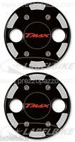2 ADESIVI  3D PROTEZIONE CARTER TMAX 500-530 compatibli VARIATORE YAMAHA T MAX
