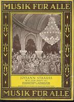 Johann Strauss : Walzer - Heft 4