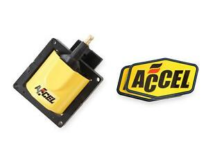 ACCEL Ignition Coil - SuperCoil - 1984-1998 Ford EEC-IV-Yellow-Individual-140012
