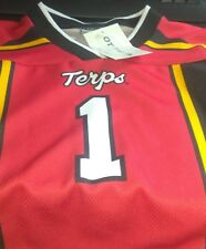 MARYLAND TERRAPINS YOUTH FOOTBALL JERSEY #1 YOUTH 2/3 NEW W/TAGS!